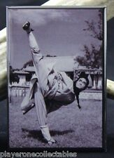 "John Liu B & W Photo 2"" X 3"" Fridge Magnet. Kung Fu / Martial Arts Master"