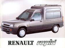 1993 RENAULT RAPID BETRIEBSANLEITUNG HANDBUCH OWNER'S MANUAL DEUTSCH GERMAN