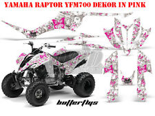 AMR RACING DEKOR GRAPHIC KIT ATV YAMAHA RAPTOR 125/250/350/660/700 BUTTERFLY B