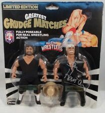 AWA Wrestling Grudge Matches Remco Crusher Blackwell vs Stan Hansen Autographed