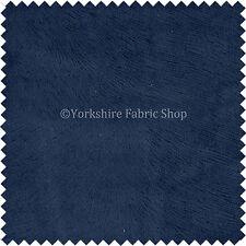 Designer Renard Gabarit Uni Bleu Denim Velvet Textures Sensation Douce