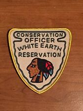 Defunct White Earth Tribal Minnesota Fish & Game Conservation Old Police Patch