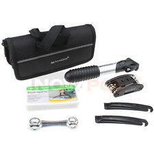 16 in 1 Bike Repair set Bicycle Tire Repair Tool Kits Mini Pump On Road & Home