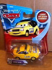 DISNEY CARS DIECAST - Chief RPM With Changing Eyes - RPM Crew Chief
