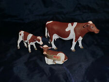 Retired Mojo fun red holstein cow family similar scale schleich combine postage