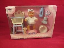 Simba  Mini New Born Baby Doll and Accessories - NRFB  (217D) 503 9806