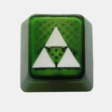Translucent Triforce White Edition Novelty Doubleshot Cherry MX Keycaps /Key cap