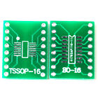 5pcs SO16 SSOP16 TSSOP16 SOIC16 MSOP16 to DIP16 Adapter Converter PCB Board MA
