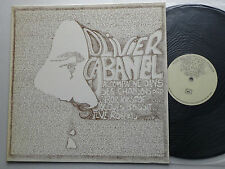 """Olivier CABANEL """" S/T """" ORIG LP AUTOPRODUCTION /PRIVATE press (1976) folk - NEUF"""