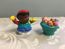 Fisher Price Little People Painter Boy GIrl Baby Lot