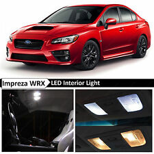 10x White Interior LED Light Package Kit for 2015-2016 Subaru WRX STI + TOOL