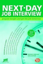 Next-Day Job Interview: Prepare Tonight and Get the Job Tomorrow-ExLibrary