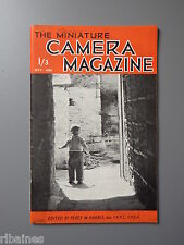R&L Vintage Mag, The Miniature Camera October 1951, Royal Photographic Society