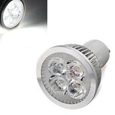 GU10 4 High Power LED Strahler Spotlicht Birne Lampe Leuchte weiss 4W 7000K GY