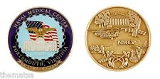 """NAVY NAVAL MEDICAL CENTER PORTSMOUTH NMCP 1.75"""" CHALLENGE COIN"""
