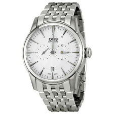 Oris  Automatic Silver Guilloche Dial Mens Watch 749-7667-4051MB