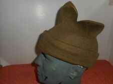 BRITISH ARMY : # WWII COMMANDO WOOL CAP or SCARF COMFORTER  WWII #