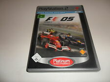 PlayStation 2  PS 2  F1 - Formel Eins 2005 [Platinum]