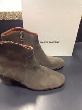 Isabel Marant Brown Suede Ankle Boots Size 41/9.5
