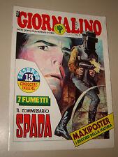 IL GIORNALINO=1979/3=COMMISSARIO SPADA=RENATO RASCEL=BERNARD HINAULT=