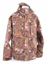 2013 NWT MENS BILLABONG COVERT SNOWBOARD JACKET $250 L Wren Brown/Tan Camo