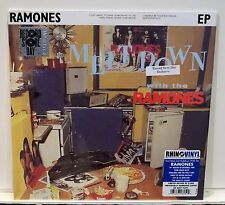 """RAMONES Meltdown With The Ramones NAVY COLORED VINYL 10"""" EP Sealed RSD Numbered"""