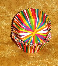 Stripes,Bright,Standard Cupcake Papers,Wilton,Multi-color,75 ct415-1868,bake cup