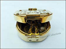 Brass Compass Brunton Compass Pocket Transit Compass Antique Vintage Style Gift