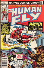 Human Fly #8 - White Tiger App! - 1978 (7.5) WH