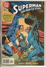 DC Comics Superman The Man Of Steel #97 February 2000 Steel & Eradicator NM