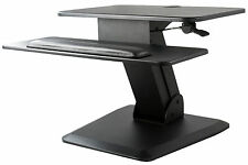 Height Adjustable Standing Desk Gas Spring Tabletop Riser Sit to Stand Station