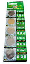 New 50 TIANQIU CR2025 BR2025 KCR2025 5003LC LM2025 3V Lithium Watch Battery USA