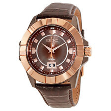 Seiko Lord Brown Dial Mens Watch SUR138