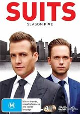 Suits : Season 5 (DVD, 2016, 4-Disc Set)