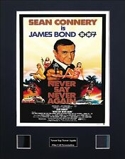 Never Say Never Again Photo Film Cell Presentation