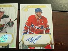 2016/17 U.D. SPX HOCKEY WHITE OUT Autographed Montreal CANADIENS Max Pacioretty