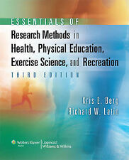 Essentials of Research Methods in Health, Physical Education, Exercise Science,