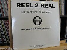 "★★ 12"" Double-Maxi - REEL 2 REAL - Are You Ready For Some More / Todd Terry Mixe"