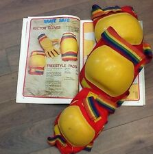 VINTAGE / ELBOW AND KNEE PADS / RARE / SKATEBOARD / 70'S