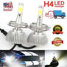 H4 60W 6000LM LED Headlight Vehicle Car High/Low Beam Bulb Kit US SELLER