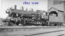O445 RP 1940/50s CMStP&P RR MILWAUKEE ROAD TRAIN ENGINE #1055