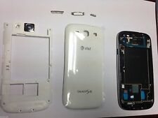 OEM Samsung Galaxy S3 SIII i747 Complete Full Housing Cover Frame Door White