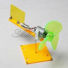 Micro Wind Turbines Generator Small DC Motor Blades W/Holder DIY Project Kit
