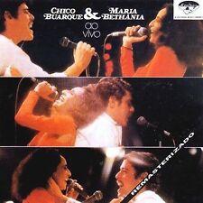 Chico Buarque & Maria Bethania Ao Vivo by Chico Buarque (CD, Feb-1990, PolyGram)