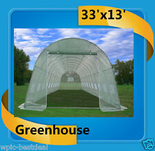 Green Garden House Walk In Greenhouse 33'x13' - Total Weight 185 Pounds