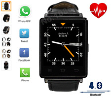 No.1 D6 3G Smartwatch BLACK Android 5.1 MTK6580 Quad Core 1.3GHz 1GB RAM 8GB ROM