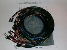 IMPIANTO ELETTRICO ELECTRICAL WIRING MOTO MORINI 350 TURISMO 1°SERIE+SCHEMA