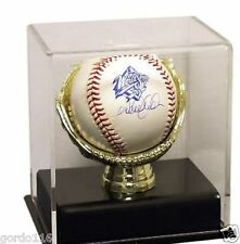 Deluxe Acrylic Single Gold Glove Baseball Display Case by Saf-T-Gard NIB CUBE