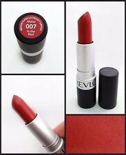REVLON MATTE LIPSTICK IN THE RED #007 DUPES MAC RUSSIAN LIP COLOR FREE SHIPPING