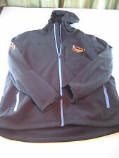 ATLANTA THRASHERS HOCKEY JACKET COAT MENS L LARGE Black NHL Hoodie Full Zip Down